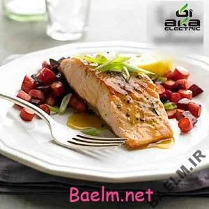 طبخ سالمون تند با هویج کبابی