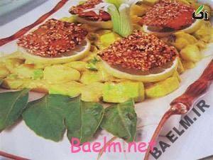 طرز تهیه ماهی سالمون کنجدی با سس لیمو