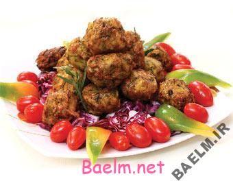 طرز تهیه ی کوفته گوشت یونانی