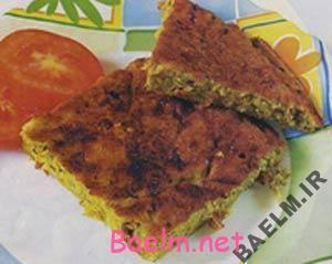 روش پخت کوکوی سبزیجات و مرغ | انواع کوکو سبزی | کوکو با مرغ
