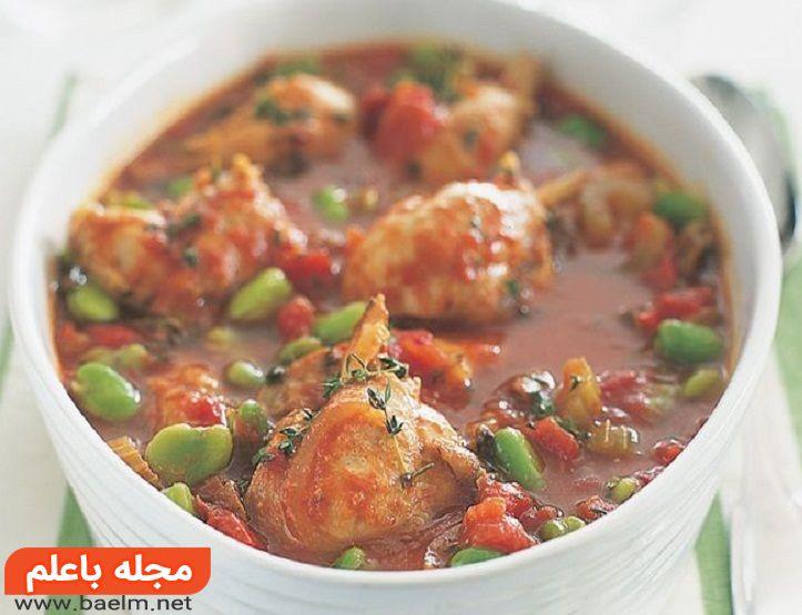 خورش کرفس با مرغ خوشمزه,طرز تهیه خورش کرفس با مرغ,خورشت مرغ با کرفس