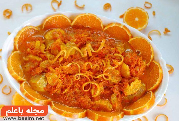 خورش نارنگی,دستور پخت خورش نارنگي,طرز تهیه خورش نارنگی