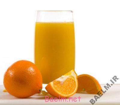 طرز تهیه آب پرتقال ماستی
