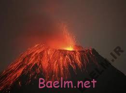 تصاویری زیبا و حیرت انگیز از لبه یک آتشفشان