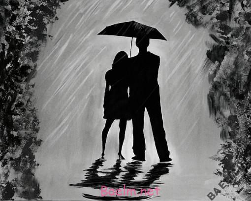 اس بارانی عاشقانه