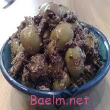 طرز تهیه ترشی زیتون پرورده عربی