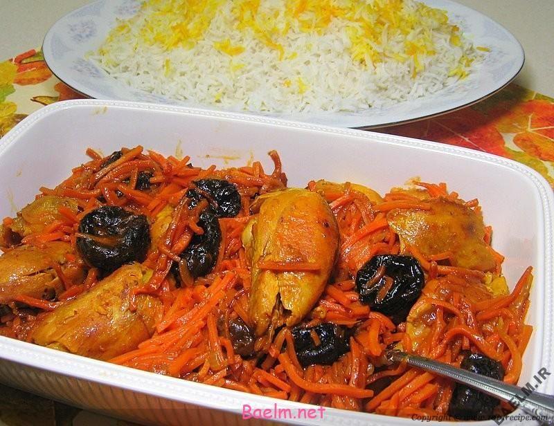 طرز پخت خورشت هویج به سبک تبریزی ها