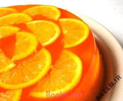 طرز تهیه دسر پرتقال
