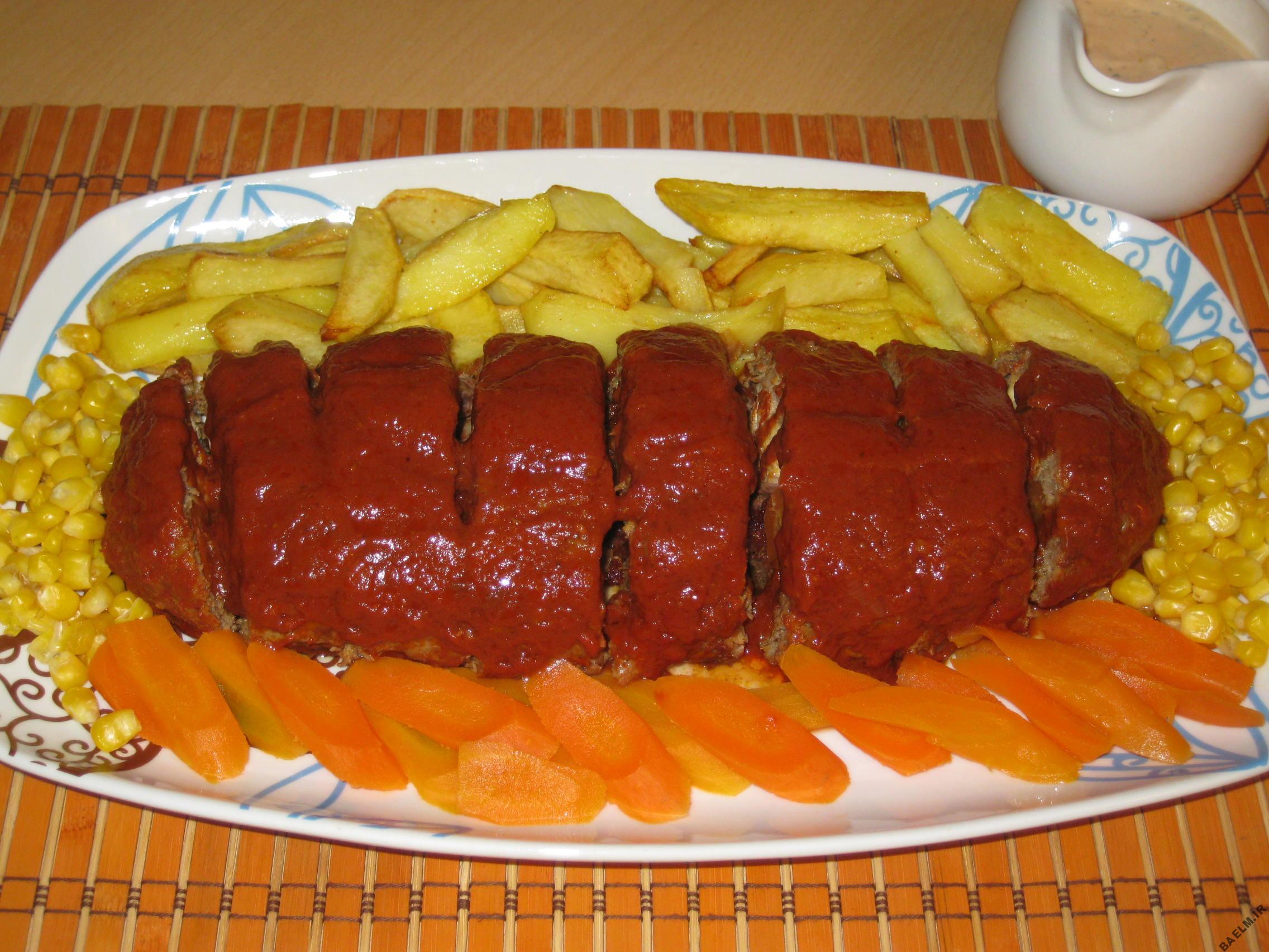 طرز پخت رولت گوشت