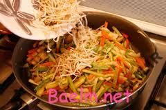 طرز تهیه ی خوراك قالبی سبزيجات