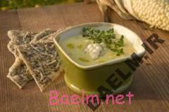 طرز تهیه سوپ اسفناج اروپایی