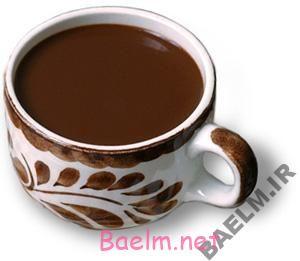 طرز تهیه نوشیدنی شکلات زابایون