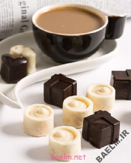 طرز تهیه شکلات شیر عسلی
