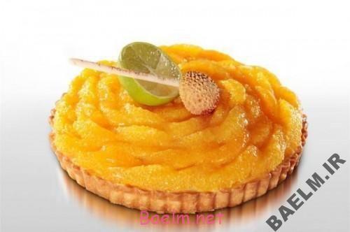 طرز تهیه تارت پرتقال
