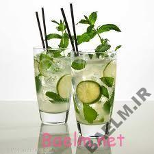 طرز تهیه نوشیدنی لیمو و نعنا