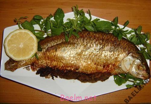 طرز تهیه ماهی کبابی با سالسای هندوانه