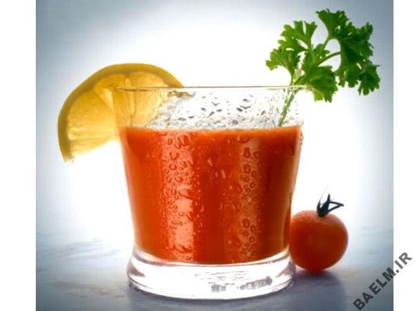 آب گوجه فرنگي و تاثر آن بر پوكي استخوان