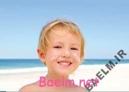 از پوست کودک خود در تابستان مراقبت کنید