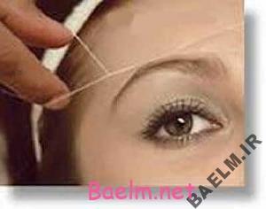 روشی برای جلوگیری از جوش صورت بعد از بند انداختن