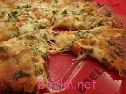 طرز تهیه پیتزا استیک مرغ
