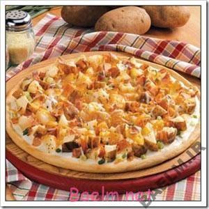 طرز تهیه پیتزا با سیب زمینی