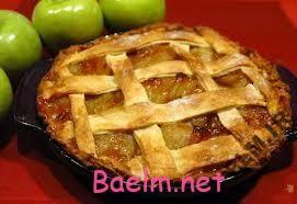 طرز پخت کیک پای سیب
