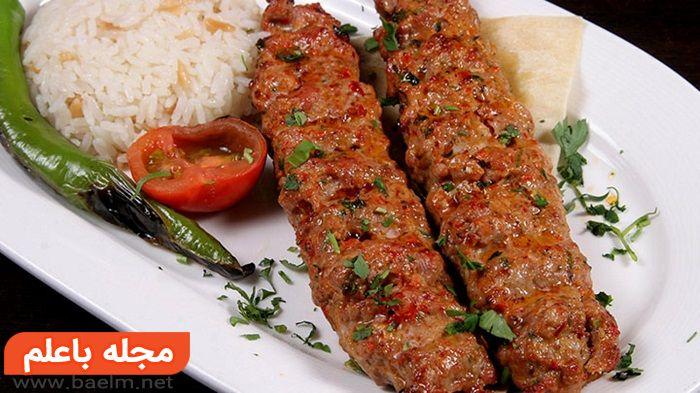 آدانا کباب و طرز تهیه آدانا کباب و طرز پخت یک کباب ترکی و آدانا کباب