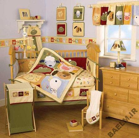 عکسهای-مدل-چیدمان-و-دکوراسیون-اتاق-نوزادان-2014-2