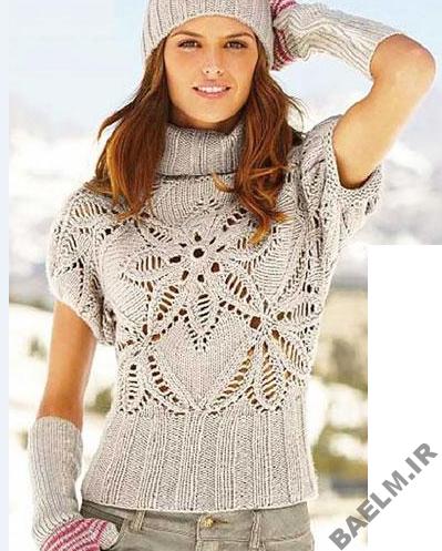 عكس مدلهاي لباس بافتني دخترانه
