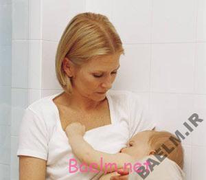 تغذیه کودک | سایز سینه و تاثیر آن در شیردهی به نوزاد