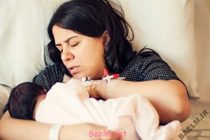 درد هایی که مادران هنگام شیر دادن به نوزاد دچار آن میشوند