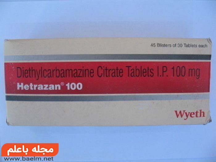 کاربرد دی اتیل کاربامازین سیترات,دی اتیل کاربامازین سیترات در بارداری و شیردهی