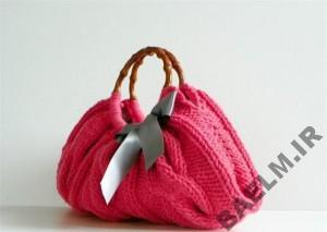 Knitting bag model YasGroup ir 45 300x213 مدل کیف دستی مجلسی بافت سری دوم
