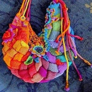 Knitting bag model YasGroup ir 58 300x300 مدل کیف دستی مجلسی بافت سری دوم