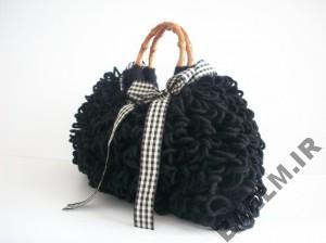 Knitting bag model YasGroup ir 69 300x224 مدل کیف دستی مجلسی بافت سری دوم