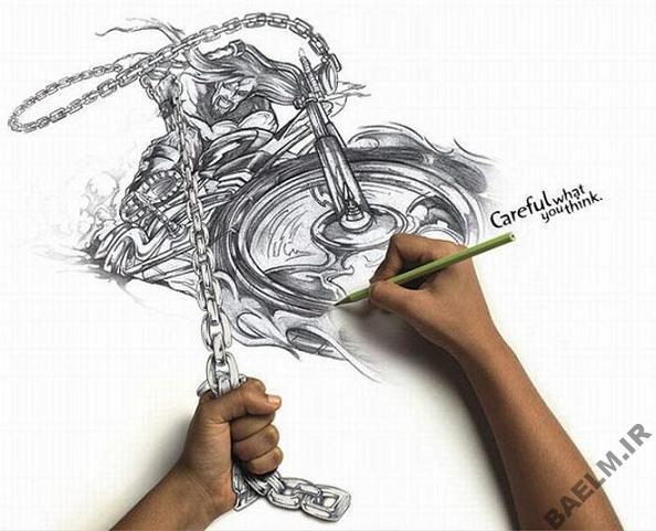 funny amazingly detailed art drawings 3 9 نقاشی خنده دار و زیبا