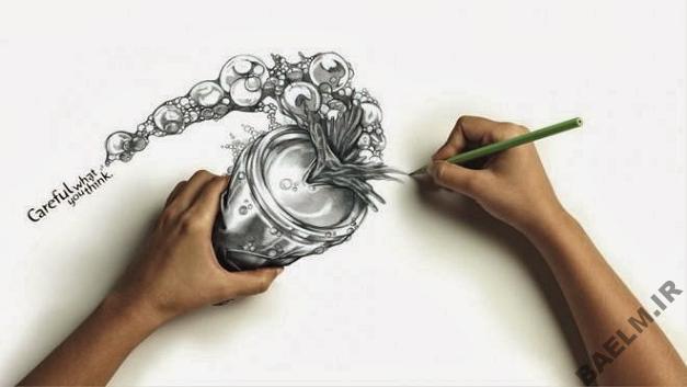 funny amazingly detailed art drawings 5 9 نقاشی خنده دار و زیبا