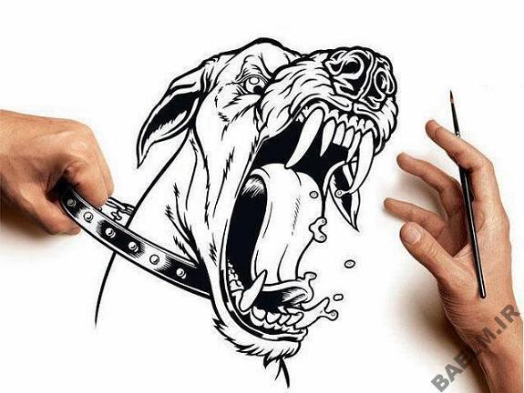funny amazingly detailed art drawings 7 9 نقاشی خنده دار و زیبا