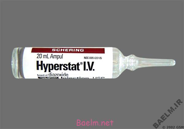 دارونامه | موارد مصرف و عوارض داروی دیازوکساید