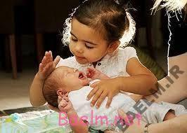 با آمدن بچه دوم،چه اتفاقی برای بچه اول می افتد؟