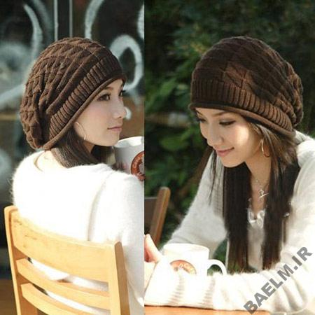 مدل کلاه بافتنی,مدل کلاه بافتنی دخترانه