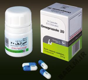 دارونامه | موارد مصرف و عوارض داروي امپرازول