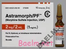 دارونامه | موارد مصرف و عوارض داروي مورفین