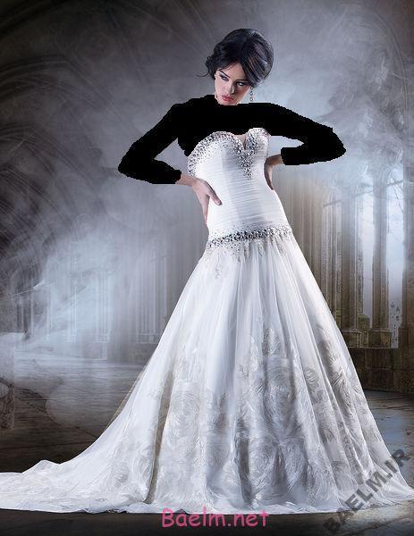 تزئینات عروسی | جدید ترین لباس عروس مدل نرم
