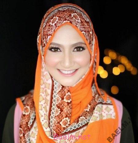مد و زیبایی | جدیدترین مدل شال عربی مجلسی 2014