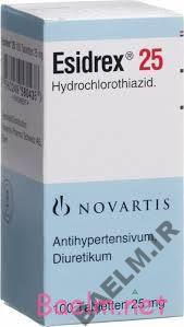 دارونامه   موارد مصرف و عوارض داروی هیدروکلروتیازید
