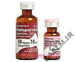 دارونامه   موارد مصرف و عوارض داروي هالوپریدول