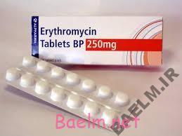 دارونامه | موارد مصرف و عوارض داروی اریترومایسین
