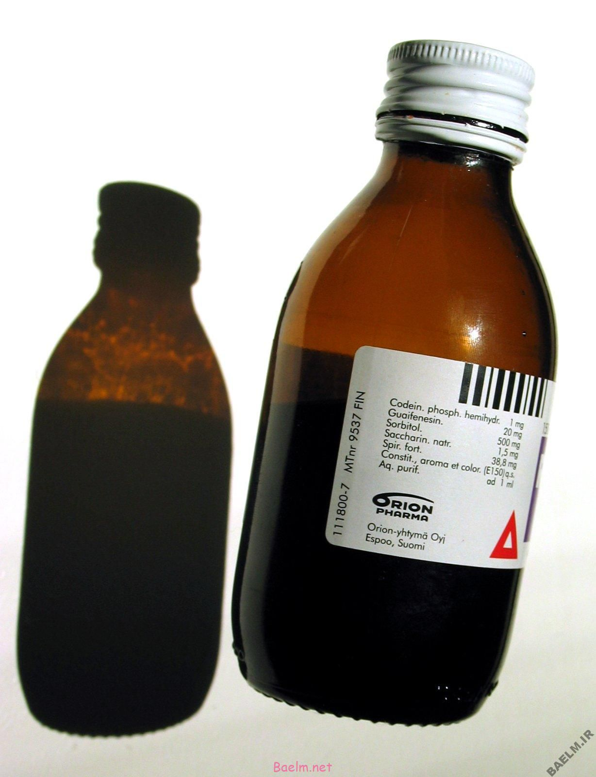 دارونامه | موارد مصرف و عوارض داروی اکسپکتورانت