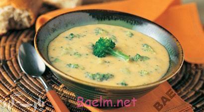 آموزش آشپزی   طرز تهیه سوپ پنیر و سبزیجات